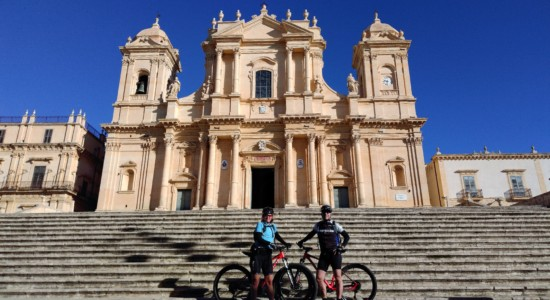 The baroque of Noto and Noto Antica