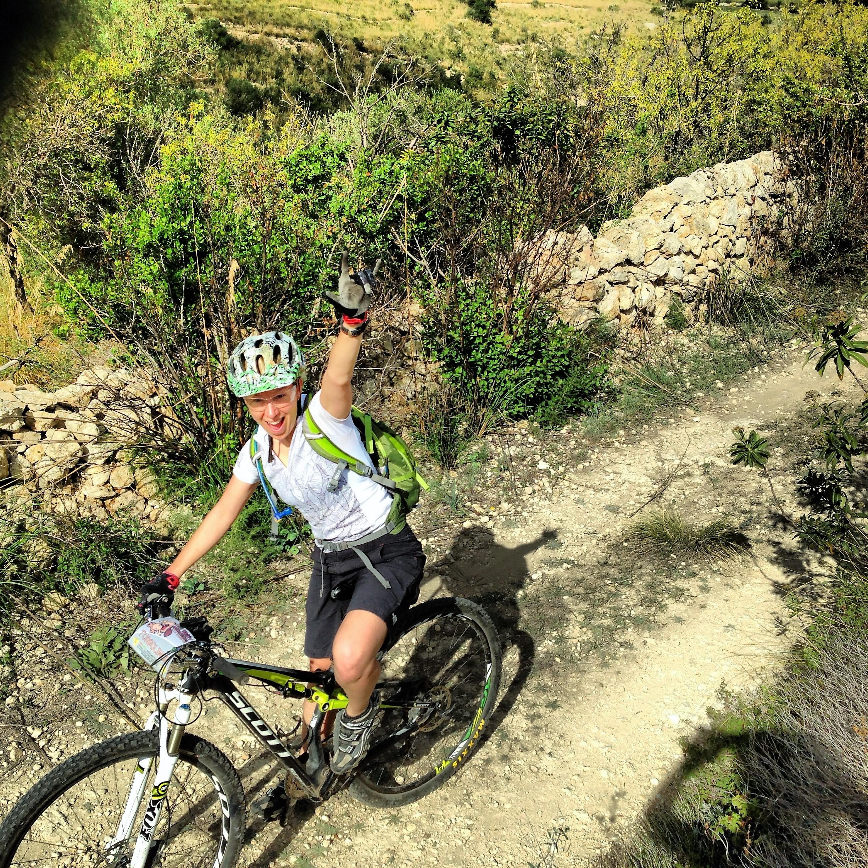 mountain biking in the Anapo Valley