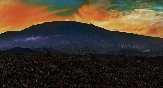 Sunset ride with Sicilian dinner on Mount Etna