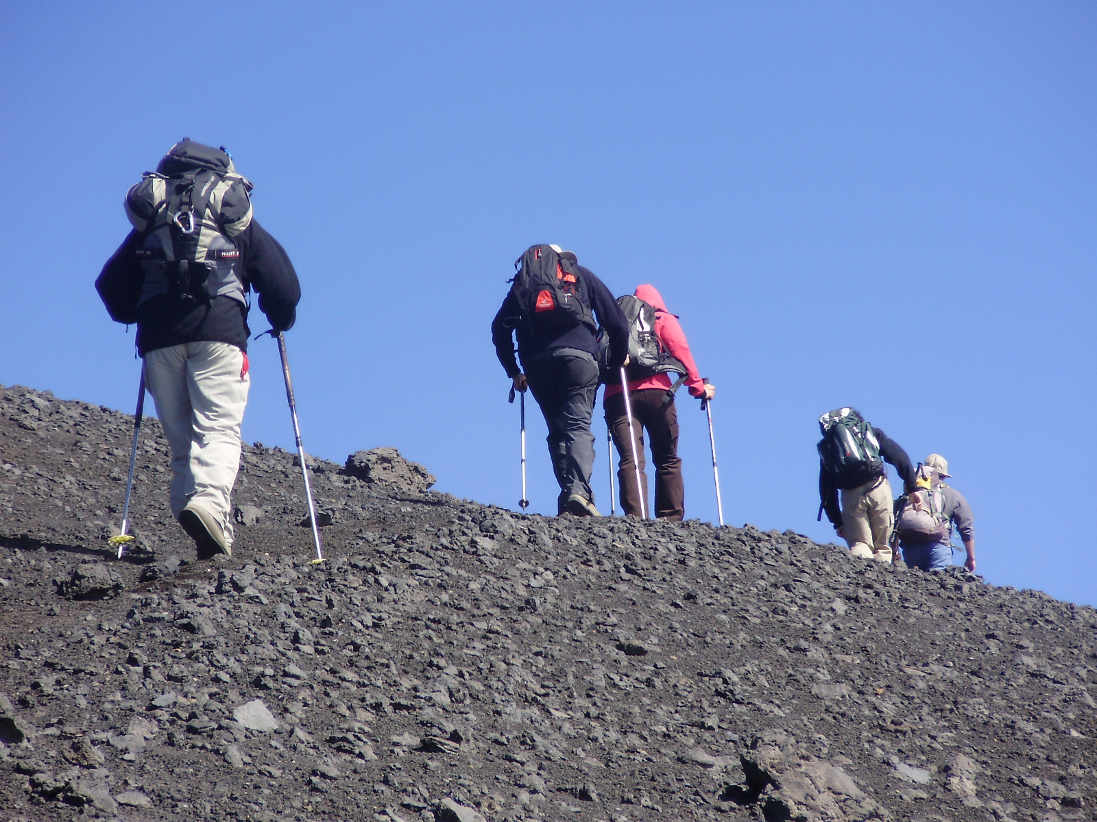 Hikin Mount Etna