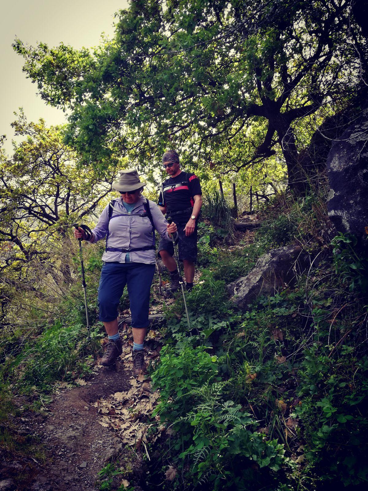 hike Alcantara Gorges