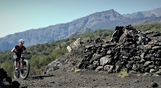 Mount Etna's Summit on E-Bikes